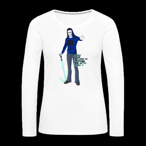 Kid's Sl1pg8r #MTSATBWY Contest Winner! - Women's Premium Long Sleeve T-Shirt