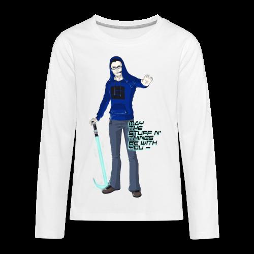 Kid's Sl1pg8r #MTSATBWY Contest Winner! - Kids' Premium Long Sleeve T-Shirt