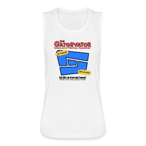 Kid's Sl1pg8r GaterVator Shirt - Women's Flowy Muscle Tank by Bella