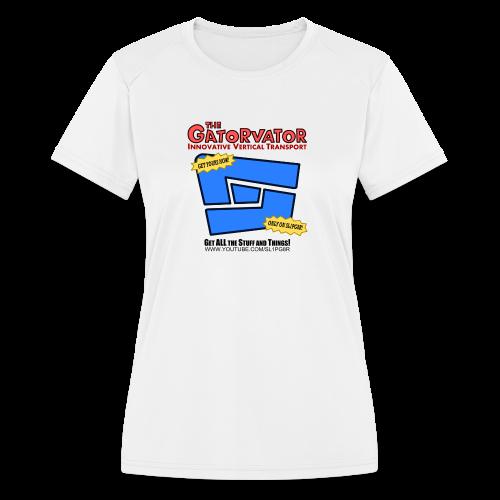 Kid's Sl1pg8r GaterVator Shirt - Women's Moisture Wicking Performance T-Shirt