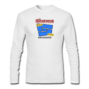Kid's Sl1pg8r GaterVator Shirt - Men's Long Sleeve T-Shirt by Next Level