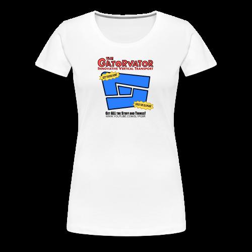 Kid's Sl1pg8r GaterVator Shirt - Women's Premium T-Shirt