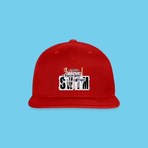 'SWIM' Lap Counter- Youth Tee - Snap-back Baseball Cap