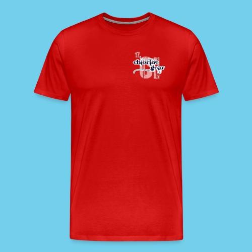 'SWIM' Lap Counter- Youth Tee - Men's Premium T-Shirt