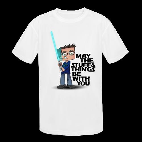 Kid's Sl1pg8r #MTSATBWY Shirt - Kids' Moisture Wicking Performance T-Shirt
