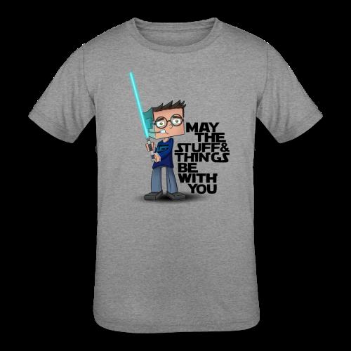 Kid's Sl1pg8r #MTSATBWY Shirt - Kids' Tri-Blend T-Shirt
