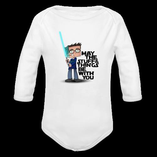 Kid's Sl1pg8r #MTSATBWY Shirt - Long Sleeve Baby Bodysuit