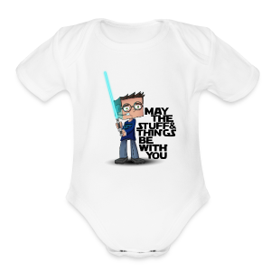 Kid's Sl1pg8r #MTSATBWY Shirt - Short Sleeve Baby Bodysuit