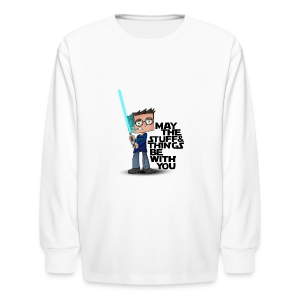 Kid's Sl1pg8r #MTSATBWY Shirt - Kids' Long Sleeve T-Shirt