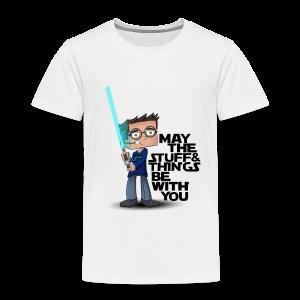 Kid's Sl1pg8r #MTSATBWY Shirt - Toddler Premium T-Shirt