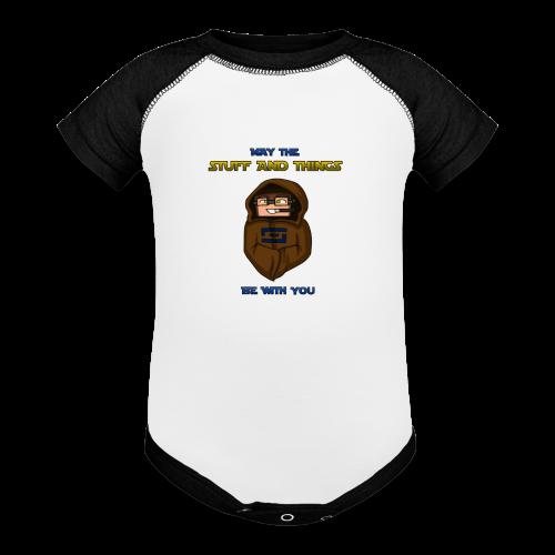 Kid's Sl1pg8r #MTSATBWY Shirt - Contrast Baby Bodysuit