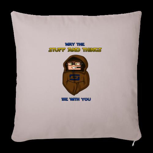 Kid's Sl1pg8r #MTSATBWY Shirt - Throw Pillow Cover