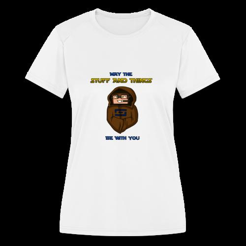 Kid's Sl1pg8r #MTSATBWY Shirt - Women's Moisture Wicking Performance T-Shirt