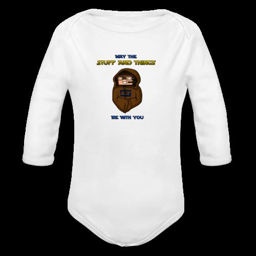 Kid's Sl1pg8r #MTSATBWY Shirt - Organic Long Sleeve Baby Bodysuit