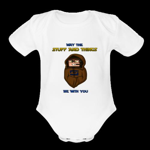 Kid's Sl1pg8r #MTSATBWY Shirt - Organic Short Sleeve Baby Bodysuit