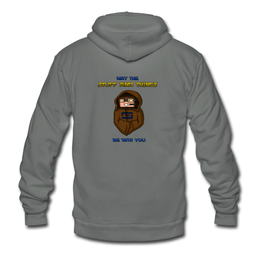 Kid's Sl1pg8r #MTSATBWY Shirt - Unisex Fleece Zip Hoodie