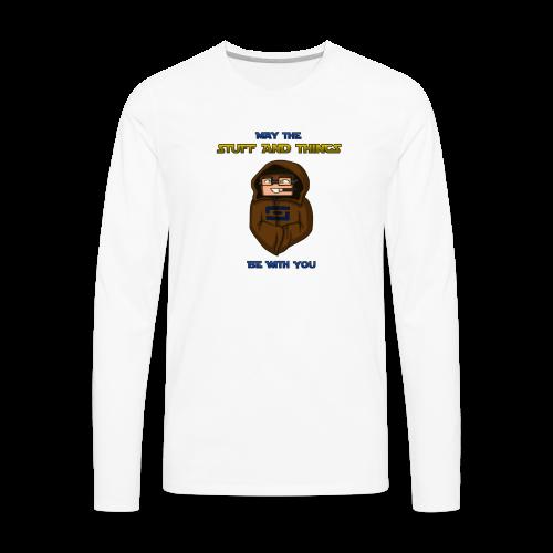 Kid's Sl1pg8r #MTSATBWY Shirt - Men's Premium Long Sleeve T-Shirt