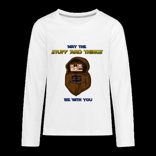 Kid's Sl1pg8r #MTSATBWY Shirt - Kids' Premium Long Sleeve T-Shirt