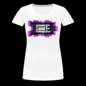 Kid's Sl1pg8r Stuff and Things Shirt - Women's Premium T-Shirt