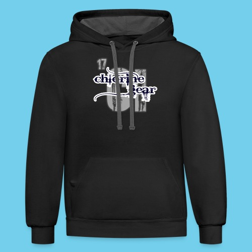 Some girls chase boys- Youth Hoodie - Contrast Hoodie