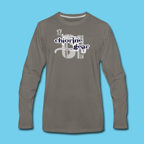 Some girls chase boys- Youth Hoodie - Men's Premium Long Sleeve T-Shirt