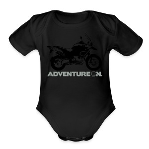 GS Adventure On - Logo Front - Short Sleeve Baby Bodysuit