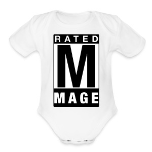 Rated Tee - Mage - Short Sleeve Baby Bodysuit