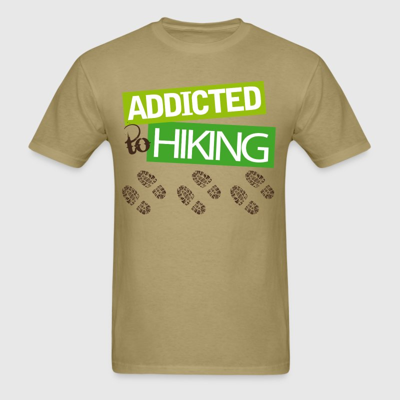 Hiker Gift I Love Hiking T-Shirts - Men's T-Shirt