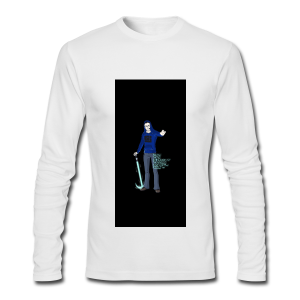 iPhone 5/5S Hard Case - Men's Long Sleeve T-Shirt by Next Level