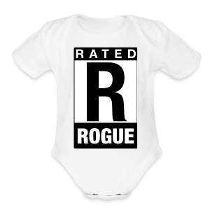 Rated Tee - Rogue - Short Sleeve Baby Bodysuit