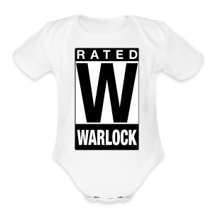 Rated Tee - Warlock - Short Sleeve Baby Bodysuit