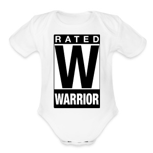 Rated Tee - Warrior - Short Sleeve Baby Bodysuit