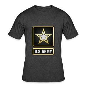 U.S.  Army Logo 3D  - Men's 50/50 T-Shirt