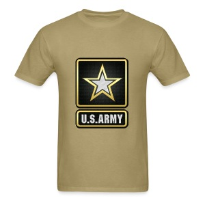 U.S.  Army Logo 3D  - Men's T-Shirt