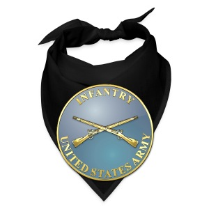 Infantry Branch Plaque - Bandana