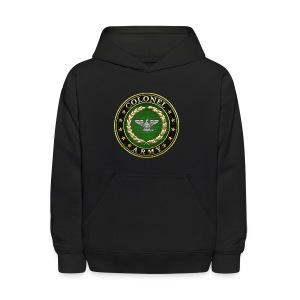 Army Colonel (COL) Rank Insignia 3D  - Kids' Hoodie