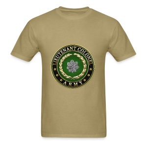 Lieutenant Colonel (LTC) Rank Insignia 3D  - Men's T-Shirt