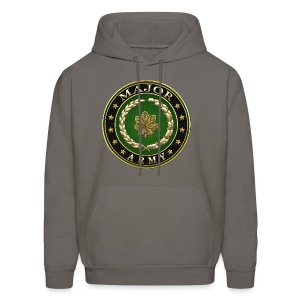 Major (MAJ) Rank Insignia 3D  - Men's Hoodie