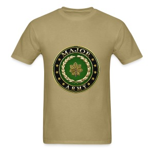 Major (MAJ) Rank Insignia 3D  - Men's T-Shirt