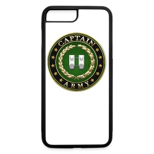 Captain (CPT) Rank Insignia 3D  - iPhone 7 Plus/8 Plus Rubber Case