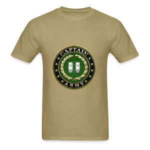 Captain (CPT) Rank Insignia 3D  - Men's T-Shirt