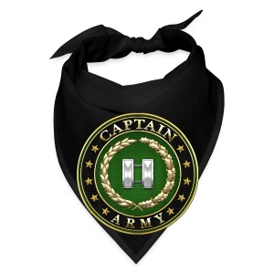 Captain (CPT) Rank Insignia 3D  - Bandana