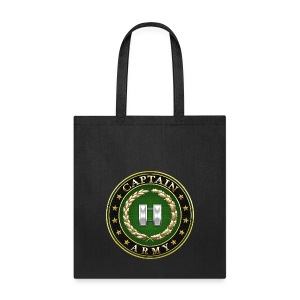 Captain (CPT) Rank Insignia 3D  - Tote Bag