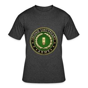 Second Lieutenant (2LT) Rank Insignia 3D  - Men's 50/50 T-Shirt