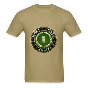 Second Lieutenant (2LT) Rank Insignia 3D  - Men's T-Shirt