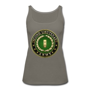 Second Lieutenant (2LT) Rank Insignia 3D  - Women's Premium Tank Top