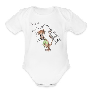 HDK Cheese Tee - Short Sleeve Baby Bodysuit