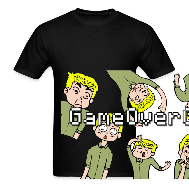 Many Faces of GameOverGamer Tee