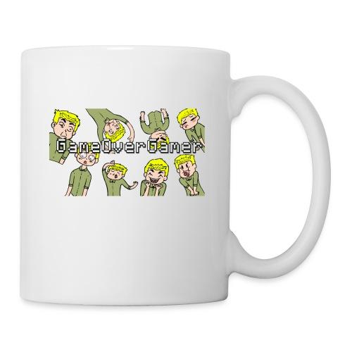 Many Faces of GameOverGamer Tee - Coffee/Tea Mug