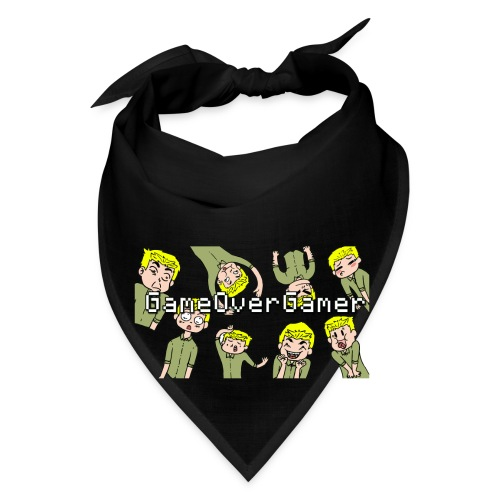Many Faces of GameOverGamer Tee - Bandana